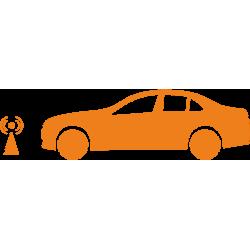 За автомобила