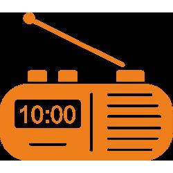 Радио/Часовник