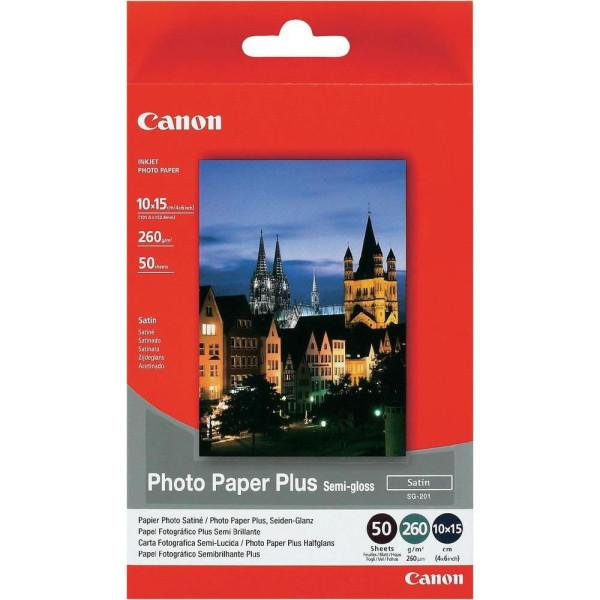 Хартия Canon SG-201 10x15cm