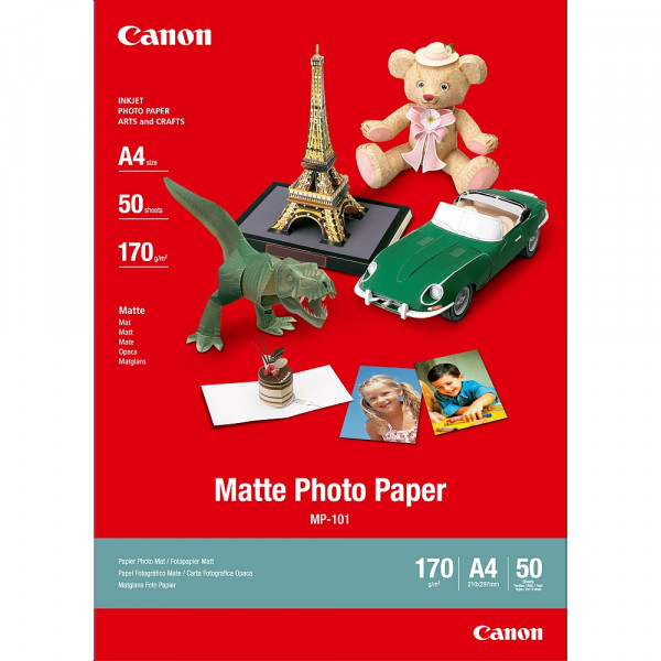 Хартия Canon MP-101 A4 Matte Photo Paper
