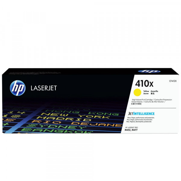 Консуматив HP 410X High Yield Yellow Original LaserJet Cartridge (CF412X)