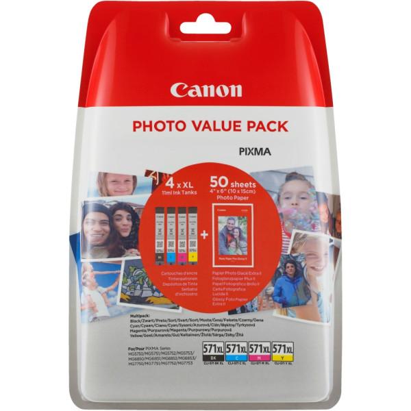 Консуматив Canon CLI-571CMYB XL PVP