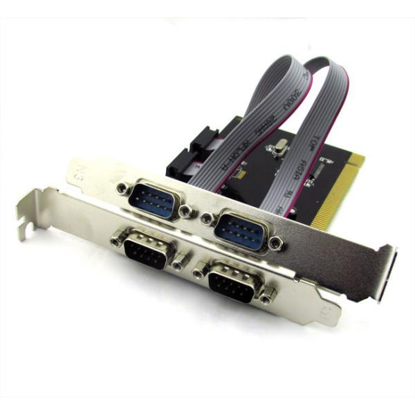 Платка PCI към 4 Serial port, No brand - 17469