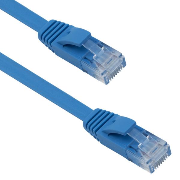 Кабел DeTech LAN - LAN, Cat:6, Flat, 10m - 18133