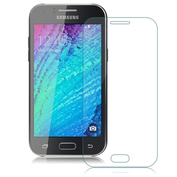 Стъклен протектор No brand Tempered Glass за Samsung Galaxy J1 2016, 0.3mm, Прозрачен - 52182