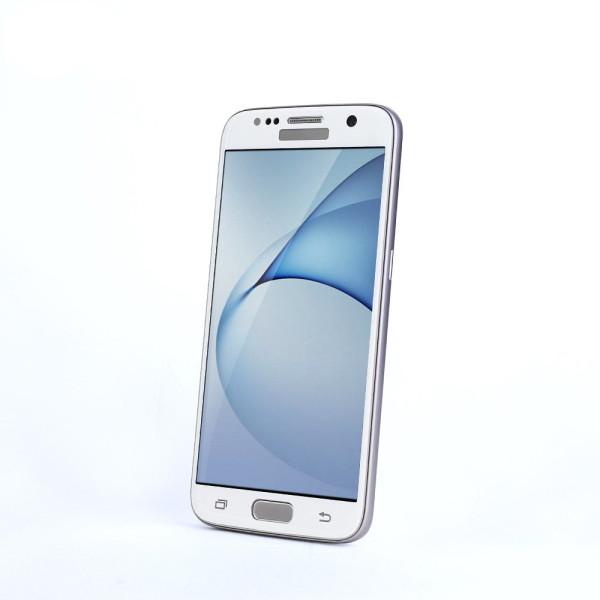 Стъклен протектор за целия дисплей, Remax Тop, за Samsung Galaxy S7 Edge, 0.3mm, Бял - 52224