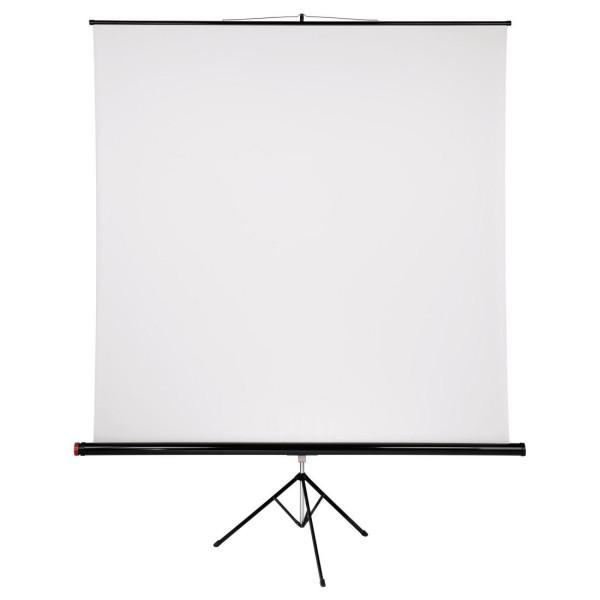Проекторен екран със статив HAMA 17799, 200 x 200, 1:1, Бял HAMA-17799
