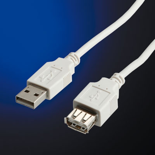 Cable USB2.0 type A-A M/F, 3m (11.99.8960), Value