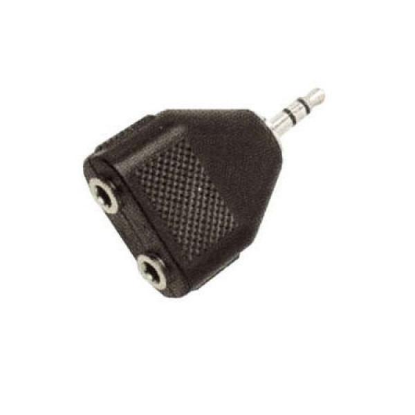 Adaptor 3.5mm-M/2X 3.5mm-F(11.99.4440)
